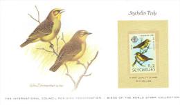Timbre Des SEYCHELLES - 1980 -The International Council For Bird Preservation - Tak Tak - Seychelles (1976-...)