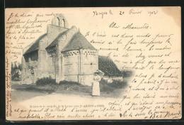 CPA St-Aignan-s-Cher, Ruines De La Chapelle De St-Lazare - Saint Aignan