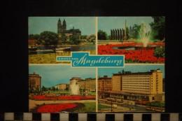 DEUTSCHLAND,  GRUSS AUS MAGDEBURG - Magdeburg