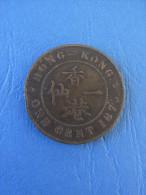 MONNAIE HONG KONG / 1 CENT / 1875 / VICTORIA / EPOQUE BRITANNIQUE - Hong Kong
