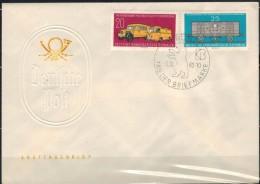 DDR 1960 - FDC Mit MiNr: 789-790 Tag Der Briefmarke - DDR