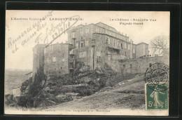 CPA Largentière, Vue D'ensemble De La Facade Ouest Du Château - Non Classés