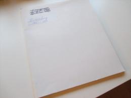 Sammlung Luxemburg Auf VD Blättern 1852 - 1956 Ab Nr. 1 O/*/** Mit Dienstmarken!! Interessante Sammlung!! - Briefmarken