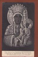 1 Cpa Art - Peinture Religieuse - La Vierge Noire De Czestochowa - Reine De Pologne - Pittura & Quadri