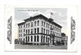 (6944-00) Wis - Hotel Erving Fond Du Lac - Etats-Unis
