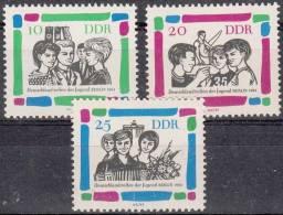 DDR 1022-1024 Postfrisch ** (17492) - [6] République Démocratique