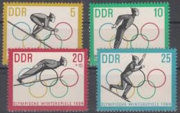 DDR 1000-1003 Postfrisch ** (17495) - [6] République Démocratique