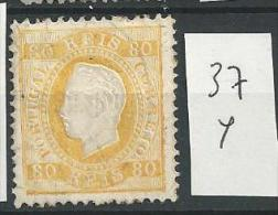 1870 USED Portugal Gestempeld - Usati