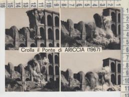 Ariccia Roma  Crolla Il Ponte 1967 - Autres