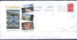 PAP Confolens - Charente Limousine Oblitéré - PAP : Bijwerking /Lamouche