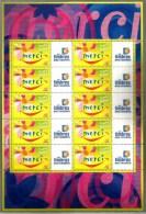 2001 FRANCIA Francobolli Augurali Minifoglio Nuovo ** MNH - Francia