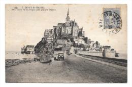 (6955-50) Mont Saint Michel - Vue Prise De La Digue Par La Grande Marée - Le Mont Saint Michel