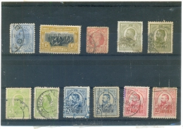 Petit Lot ROUMANIE Anciens - 11 Timbres - Collections