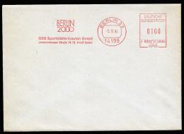A3579) Bund Umschlag Mit AFS Berlin 2000 Vom 05.10.1994 - Sommer 2000: Sydney