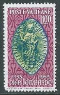 1953 VATICANO PIER LOMBARDO MNH ** - ED61 - Vatican