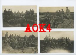Lot DESSAU ROßLAU ALTENGRABOW Infanterie-Regiment 93 Übung Übungsplatz Spaten Rekruten - Dessau
