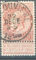 _5y-953: N° 57: E9: LA LOUVIERE - 1893-1900 Fine Barbe