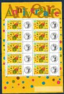 2002 FRANCIA Anniversari  Minifoglio Nuovo ** MNH - Francia