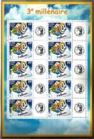 2000 FRANCIA Terzo Millennio  Minifoglio Nuovo ** MNH - Francia