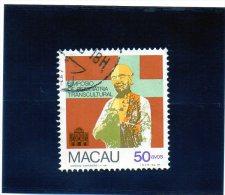 1981 Macao - Simposio De Psichiatria Trancultural - Macau