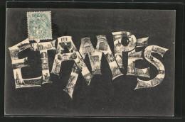 CPA Etampes, Coins De Ville - Etampes