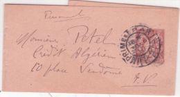 1910- Bande De Journal E P 2 C Sage  Oblit.  IMPRIMES /  PARIS / P.P. 18  De Paris Pour Paris - Poststempel (Briefe)