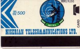 TARJETA TELEFONICA DE NIGERIA.