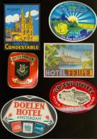 Etiket étiquette D' Hôtel : Beau Lot De 20 étiquettes D' Hôtel - Hotel Labels