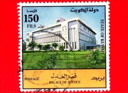 KUWAIT - Usato - 1992 - Palazzo Di Giustizia - 150 - Kuwait