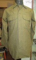 Chemise US Moutarde US WW2 - 1939-45
