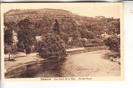 L 9200 DIEKIRCH, Partie An Der Sauer, 192... - Diekirch
