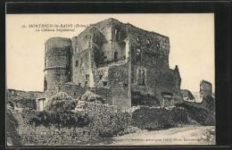 CPA Montbrun-les-Bains, Le Château Seigneurial - Non Classés