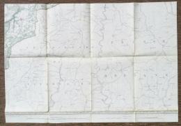 CARTE D' ETAT-MAJOR LIMERLE 1904 CLERVAUX DASBURG NEUERBURG HOSINGEN TROISVIERGES HACHIVILLE WEISWAMPACH S279 - Cartes Topographiques