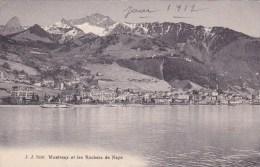 MONTREUX ET LES ROCHERS DE NAYE - VD Vaud