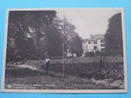 MOERZEKE Retraiteshuis O.L.V. Middelares Achterzicht Op 't Kasteel ( Thill ) Anno 19?? ( Zie/voir Foto Voor Details ) !! - Hamme