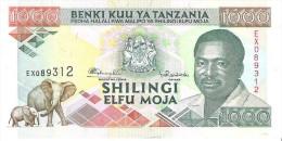 Tanzania - Pick 27 - 1000 Shilingi 1993 - Unc - Tanzania