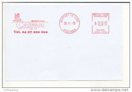 FRANCE - 2000 CALYPSO NYMPH / MYTOLOGY / SAILING SHIP / PROOF / SPECIMEN. FRONT COVER ONLY - France