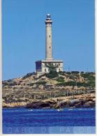 Spain, CABO DE PALOS - Murcia, Lighthouse, Phare, Pharo ,  Format Grande - Murcia