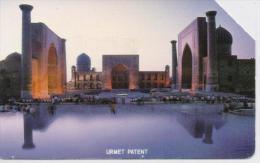 UZBEKISTAN PHONECARD SAMARKAND(LARGE BAND)-USED(2) - Uzbekistan