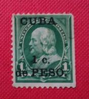 USA - ESTADOS UNIDOS. POSESION CU BA. USADO - USED - Cuba