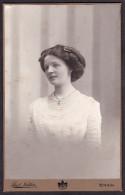 Südmähren - Hübsche Junge Dame - Orig. Kabinettphoto ZNAIM Um 1900 CAB KAB - Photos