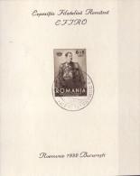 Rumänien Block 1 Gest. - Ansehen!! - 1918-1948 Ferdinand, Charles II & Michael
