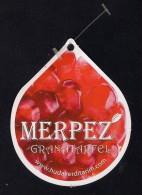 # GRANAT APFEL MERPEZ Fruit Tag Balise Etiqueta Anhänger Cartellino Granaatappel Pomegranate Granatbaum Granado - Fruits & Vegetables