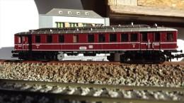SCALA N ECHELLE - Minitrix 2096: AUTOMOTRICE Triebwagen DB VT 62 904 - N SPUR - Locomotives