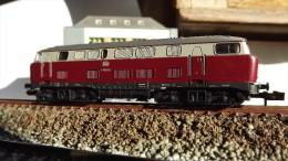 """SCALA N ECHELLE - MINITRIX 12846 LOCO DIESEL DB V160 003 - """"Lollo"""" - N SPUR - Locomotive"""