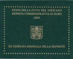 Vaticano - 2 Euro 2005 In Canfezione Originale - Vatican