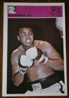 "BOX - Trading Card From Ex Yugoslavia - ""SVIJET SPORTA"" - MUHAMMAD ALI / Casius Clay -  XII / 1980g. - Trading Cards"