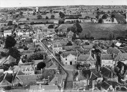 CPSM - SONZAY (37) - Vue Aérienne Du Quartier De La Mairie Et De La Route De Souvigné En 1960 - France