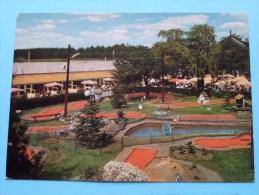 """BOUWEL Lunapark """" DE HEIDE Miniatuur Golf Speeltuin Zomerverblijf Kamping () Anno 19?? ( Zie/voir Foto Voor Details ) !! - Grobbendonk"""