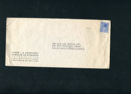 NETHERLANDS 1924 ENVELOPPE CHRYSLER & PLYMOUTH. - Voitures
